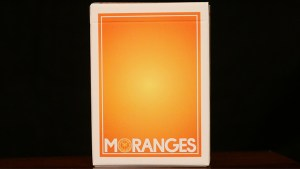 Moranges Playing Cards-First Edition (Aqua Finish) by Magic Encarta