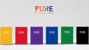 Pure NOC (Red) Playing Cards by TCC and HOPC