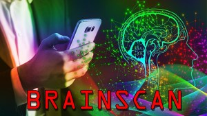 Brain Scan by Russ Wagg mixed media DOWNLOAD - Download