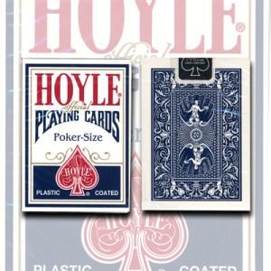 Cards Hoyle Poker deck (blue) USPCC