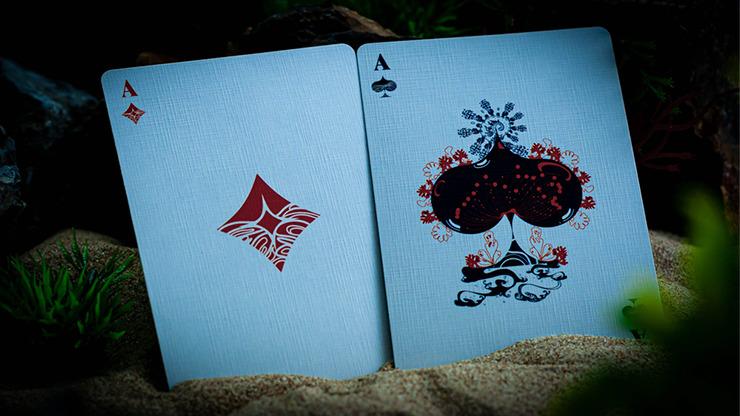 ONDA Aquamarine Playing Cards by JOCU