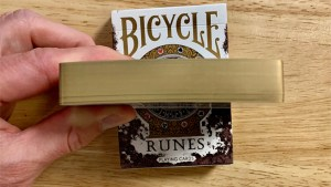 Gilded Bicycle Rune Playing Cards