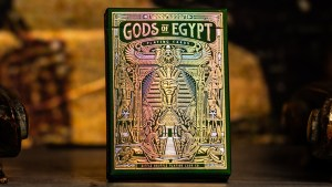 Gods of Egypt (Golden Oasis) Playing Cards by Divine Playing Cards