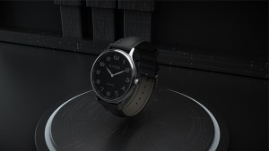 Infinity Watch V3 - Silver Case Black Dial / STD Version (Gimmick and Online Instructions) by Bluether Magic