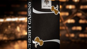 Limited Edition Cherry Casino (Monte Carlo Black and Gold) Numbered Seals Playing Cards by Pure Imagination Projects