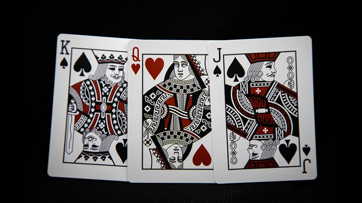 Resurrected V2 (Red) Playing Cards By Abraxas