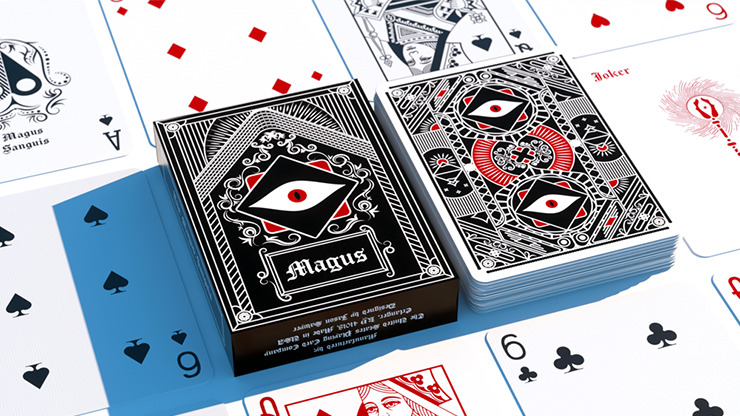 The Seers Magus Sanguis Playing Cards