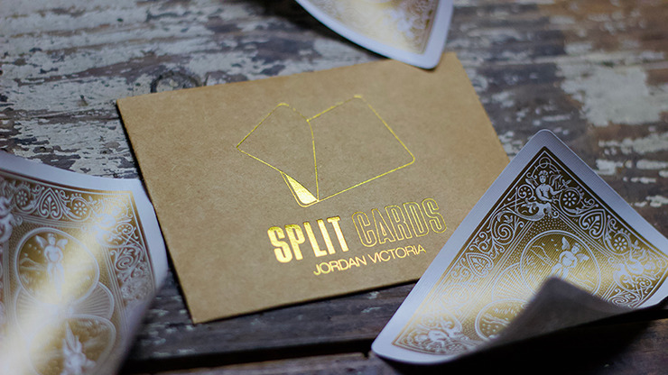 COLORED Split Cards 10 ct. (Gold) by PCTC