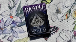 Bicycle Butterfly (Violet) Playing Cards