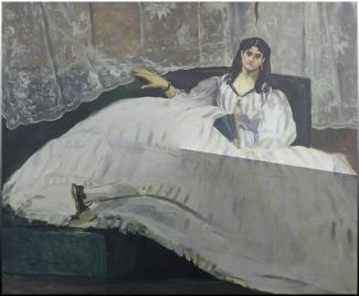 Έργο του 1862 του Εδουάρδου Μανέ αποδιδόμενο ως προς το μοντέλο, στη Ζαν Ντυβάλ σύντροφο του ποιητή Κάρολου Μπωντλέρ