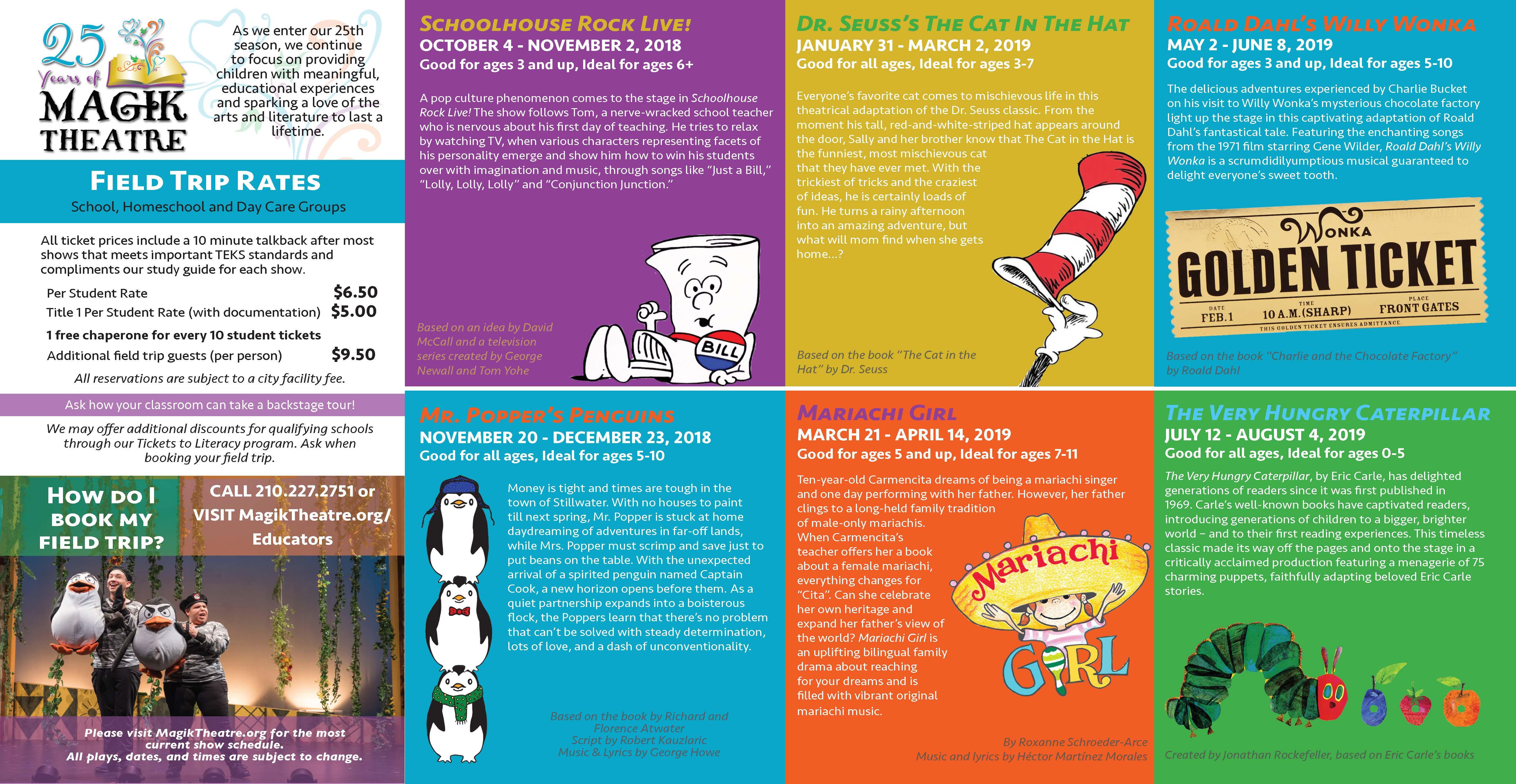 Educational Tour Brochure