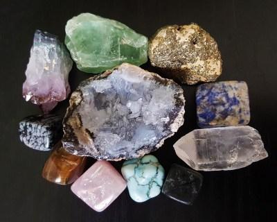 eau de cristaux