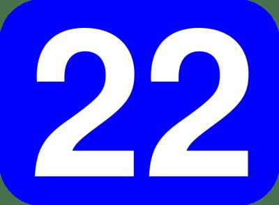 Numérologie du maître nombre 22