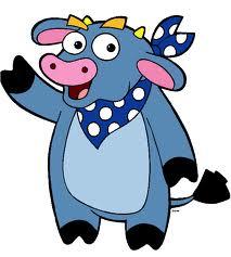 синята крава