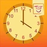 klokkijken leer je met deze leuke leerzame app.