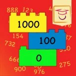 get a number sensitivity for big numbers with the educational app.