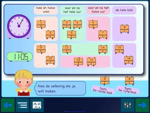 Leer de klok lezen in kleine stapjes van ronde klok tot digitale klok.