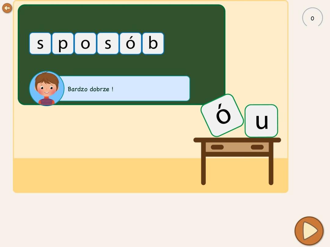 Ortografia ó czy u