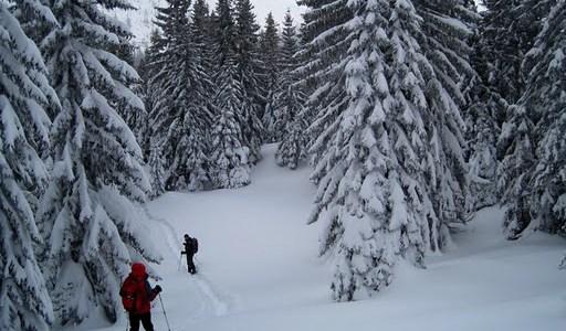 Schneeschuh-Wochenende mit Hütt'nabend am Kuhschneeberg