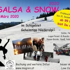 Jetzt Salsa & Snow 2020 buchen
