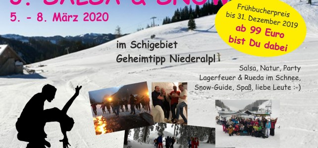 Salsa and Snow 2020 Flyer