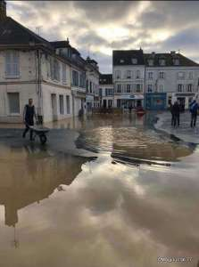 Crécy inondations