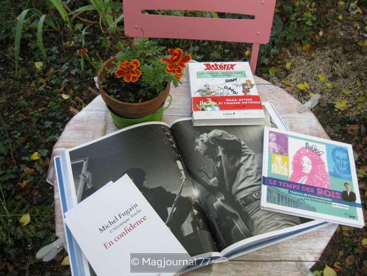 livre samedi 27 octobre 2018 - John Lennon, Astérix, Michel Fugain, Stéphane Bern