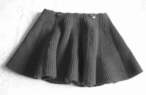 L'effetto della gonna indossata