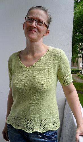 Modello Maglietta Ambiente Di Astrid Schramm Maglia E Uncinetto