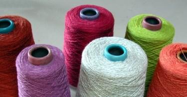 Rocche di filato di lino
