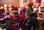 Edinburgh Yarn Festival, Corn Exchange 2015 - Foto di Katie Blair Matthews, Edinburgh Yarn Company ltd.