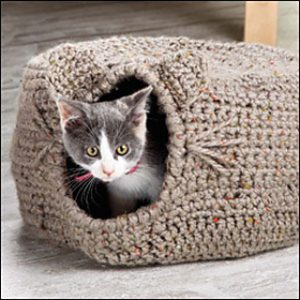 Cat Igloo by Lena Skvagerson