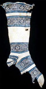 """Calze """"copte"""" risalenti al IX-X secolo"""