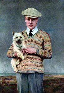 Il maglione Fair Isle del futuro Edoardo VIII