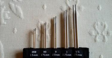 Le cinque punte del set ChiaoGoo mini