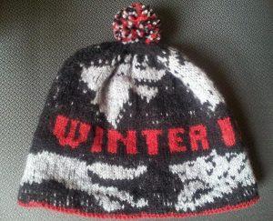 Cappello Winter is Coming, uno dei motti più noti del Trono di spade