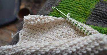 Tunisian Crochet Cloth by Devon_Devaburger