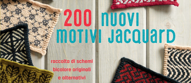 200 nuovi motivi jacquard di Andrea Rangel