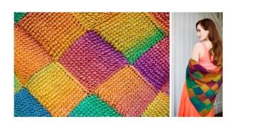 """Un modello a uncinetto tunisino di """"Inside Crochet"""""""