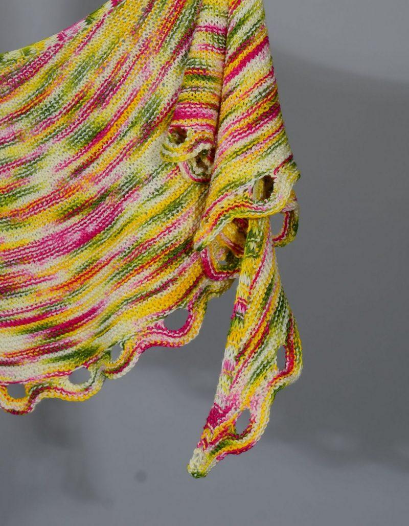 maglia per la montagna Multicolor Shawl Ruth Michel