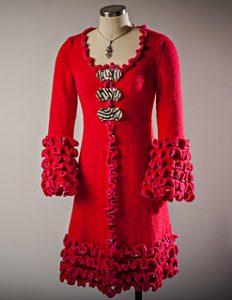 Cappotto ai ferri Flamenco