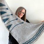 Scialle di Emma Fassio con Vally Tweed