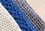 Basic Tunisian Crochet Stitches Yarn&Hooks Guida per principianti dell'uncinetto tunisino