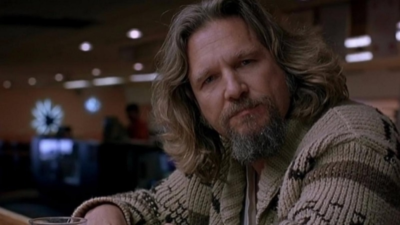 Jeff Bridges in The Big Lebowsky