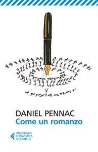 Copertina del libro Come un romanzo di Daniel Pennac