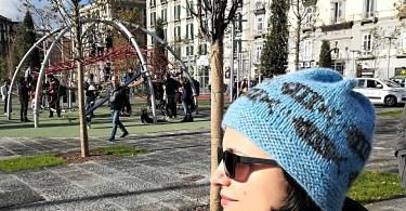 Cappello a maglia Sardine