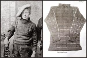 2 esempi di maglione Guernsey