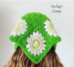 Daisy Bandana Headscarf Joanne Johncey fasce
