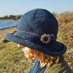 cappello Boho Chic uncinetto