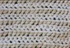 Brier stitch a uncinetto